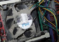 Чистка кулера компьютера от пыли в Петербурге