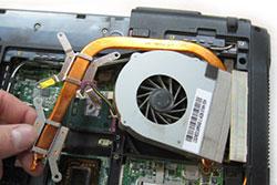 чистка системы охлаждения ноутбуков Asus в СПб