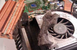 Чистка ноутбука Lenovo от Пыли в СПб