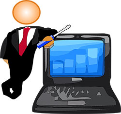 Вызвать мастера по ремонту ноутбуков на дом в СПб