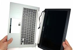 Замена деталей корпуса ноутбука в СПб