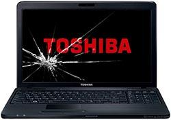 Замена матрицы ноутбука Toshiba в СПб