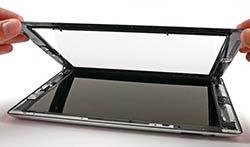 Замена тачскрина (сенсорного стекла) планшета